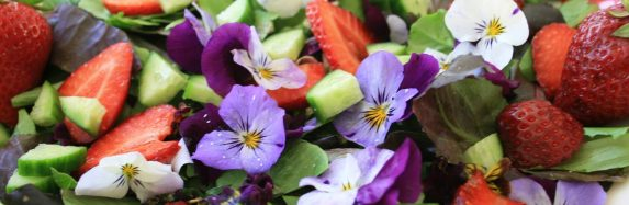 Springy Flower Salad