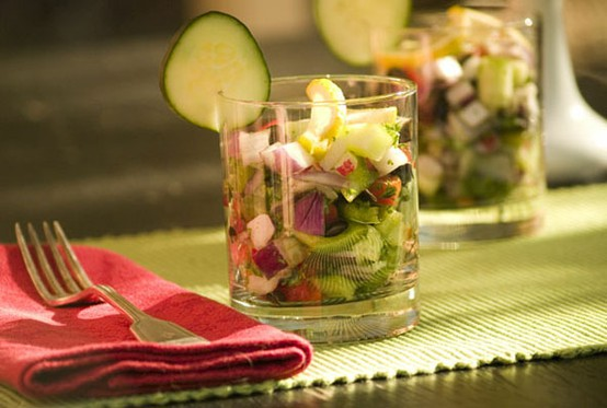 Cocktail Salad Shooters