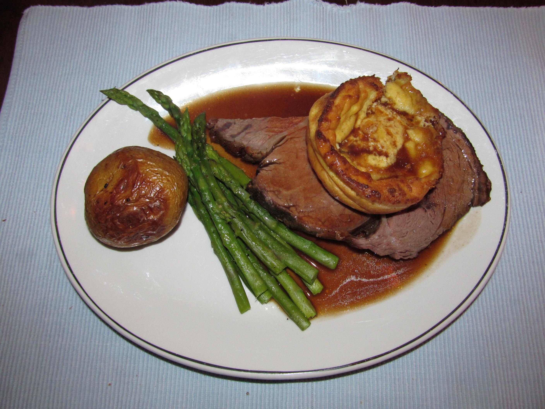 Roast Angus Beef Prime Rib