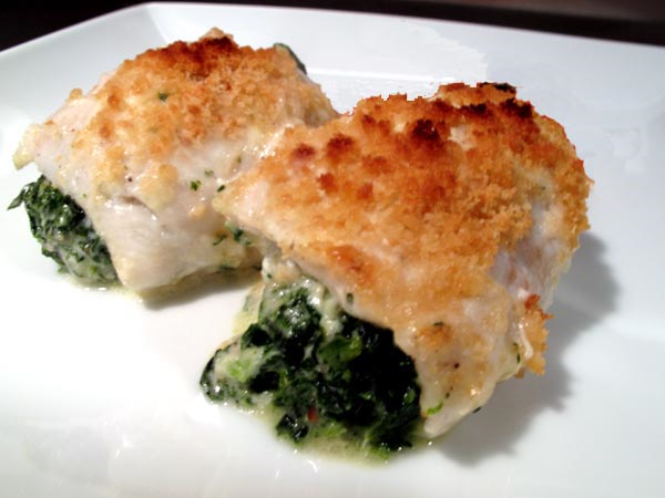 Florentine Filet of Sole Parmesan