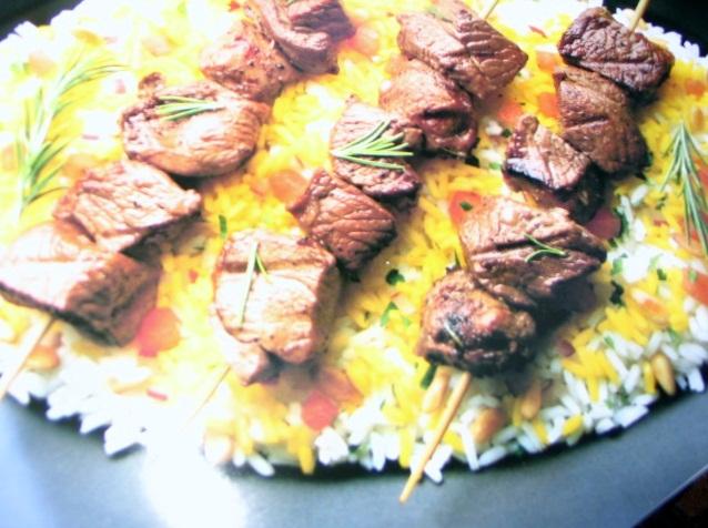 Grilled Spring Lamb Kebabs