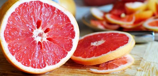 Ruby Red Grapefruit Cake
