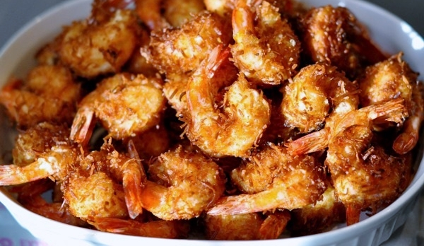 Coconut Beer Shrimp