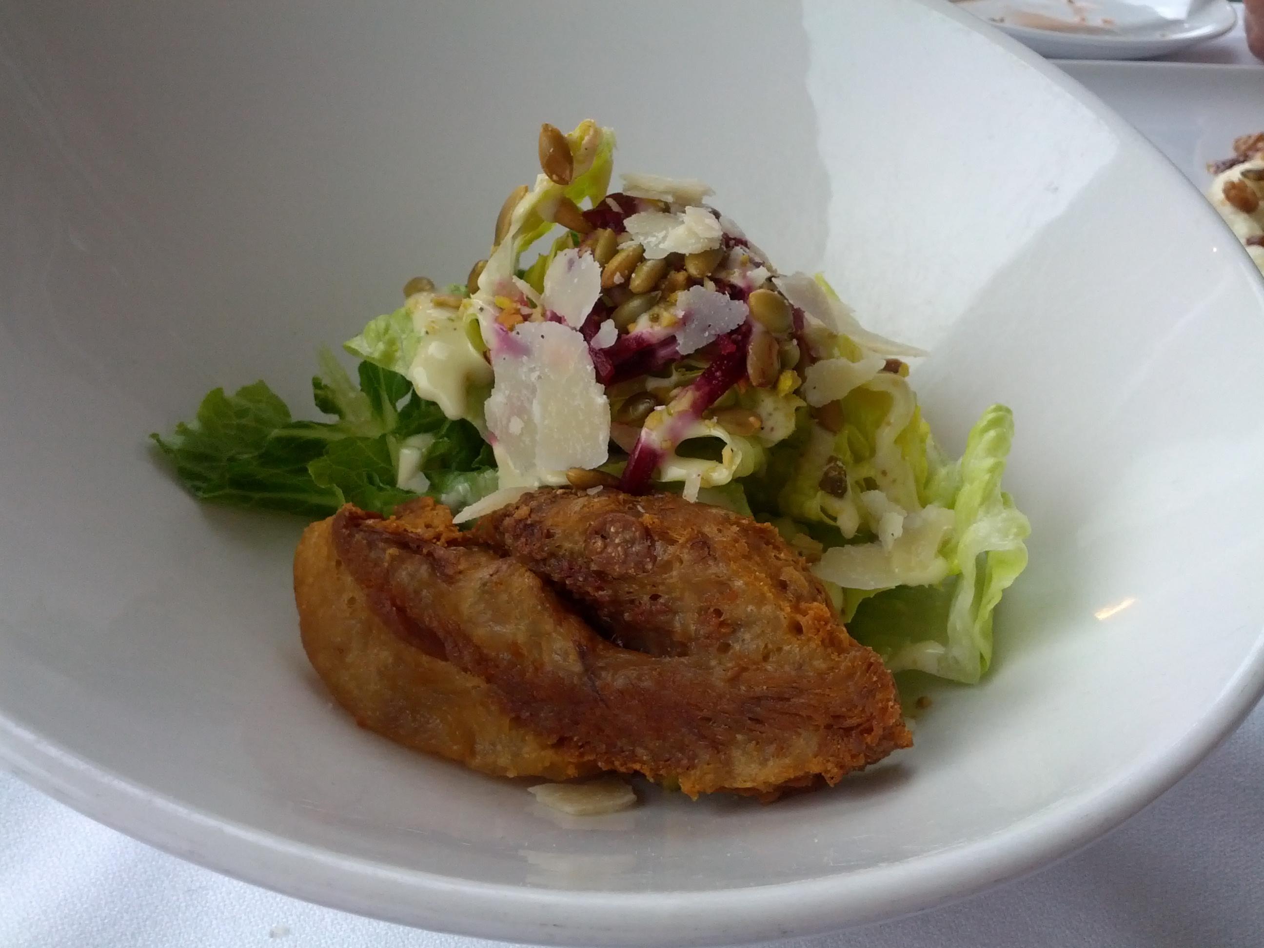 Lemon Ginger Thyme Roast Chicken.