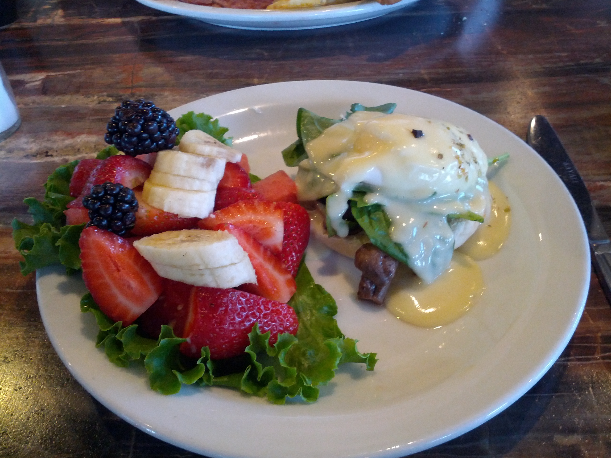 Brunch Grilled Veggies Benny