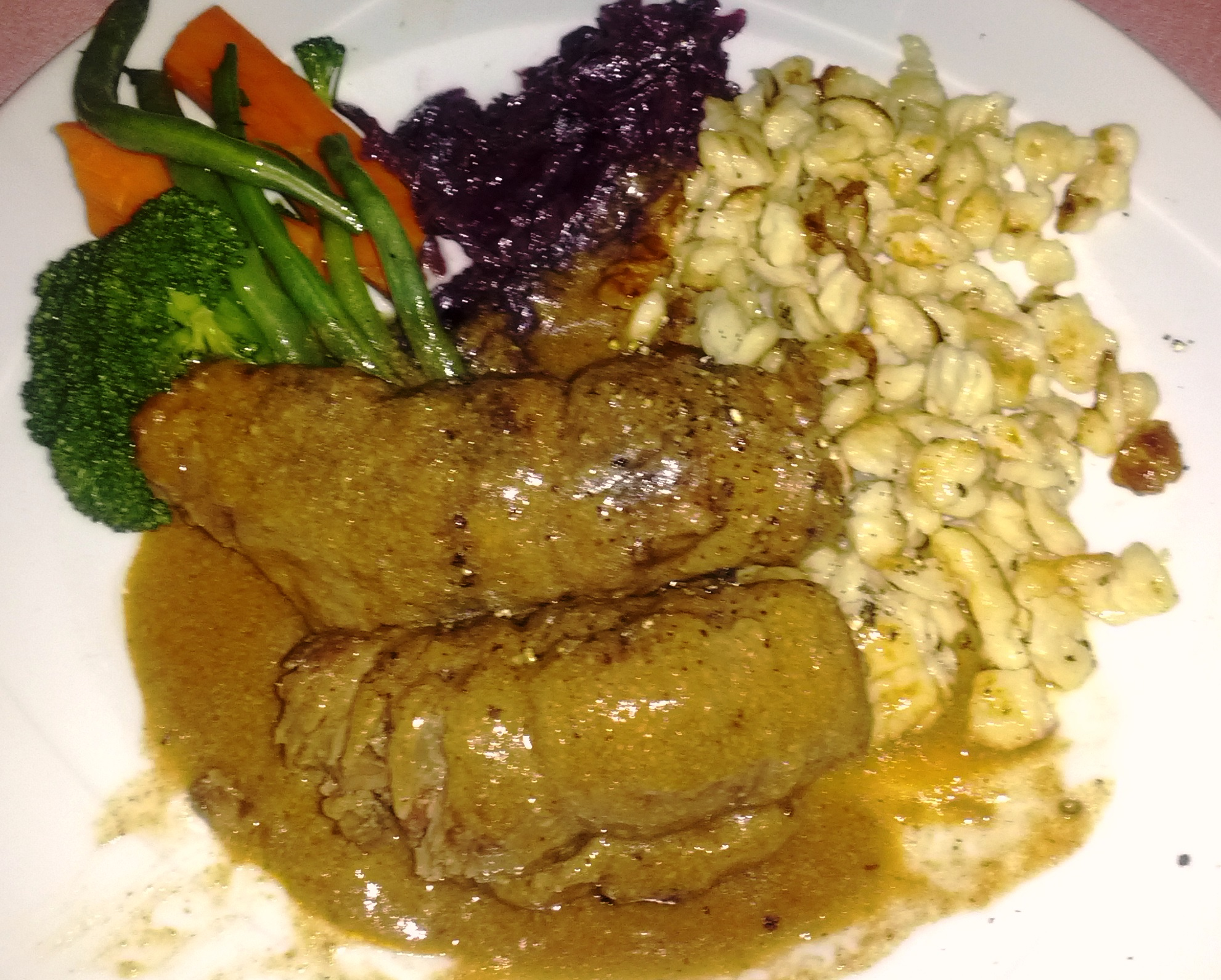 Beef Rouladen; Dieses Gericht ist ausgezeichnet!