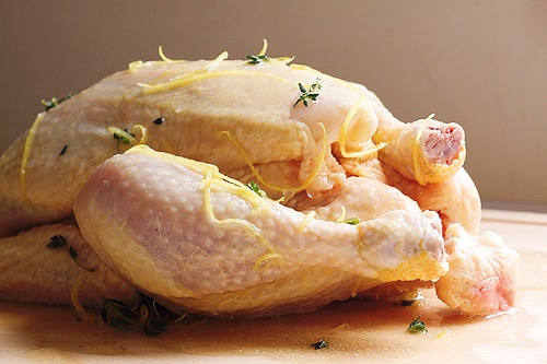 Roasted Lemon Thyme Chicken