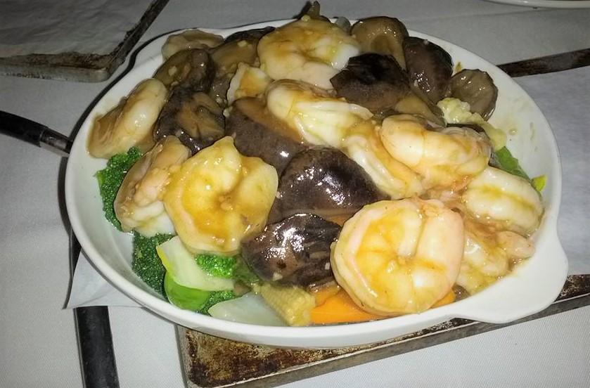 Mushroom Shrimp Vegetable Buddha.