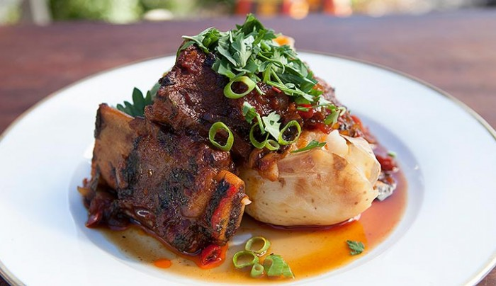 Slow Roasted Kahlua BBQ Beef Short Ribs