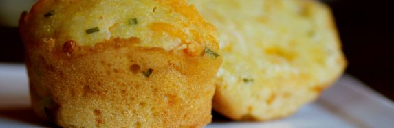 Chive and Cheddar Laced Cornbread